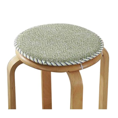 [L] Soft Round Stool Cover Bar Stool Seat Pad