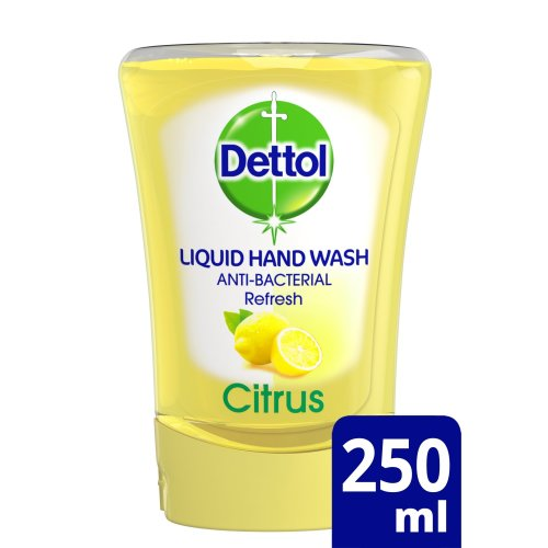 Dettol No-Touch Refill Anti-Bacterial Hand Wash Citrus, 250 ml