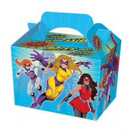 10 Miss Super Hero Boxes
