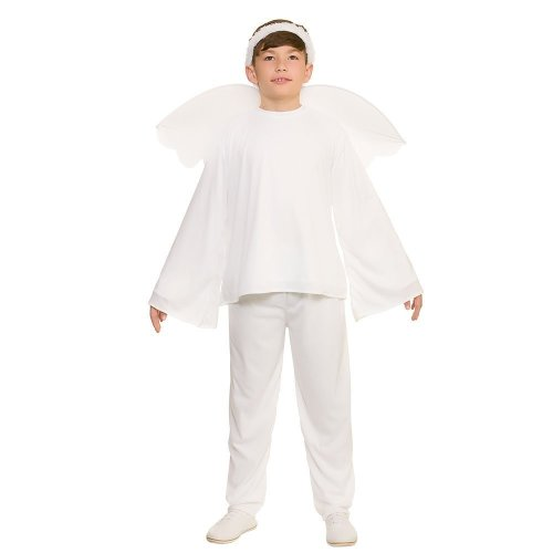 Kids Christmas Nativity Angel Costume