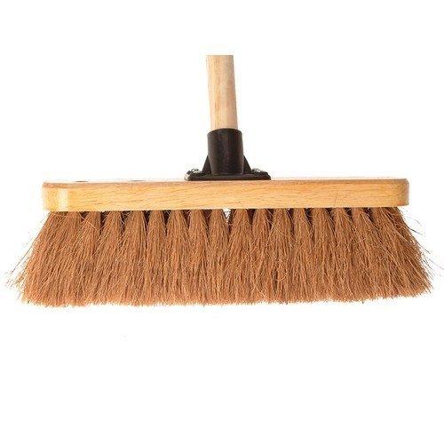 Faithfull FAIBRCOCO12H Broom Coco 30cm (12in) Head with 48in Handle