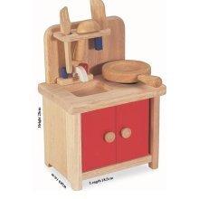 Childrens Mini Wooden Kitchen Set (A36006) - Nursery, Pre School