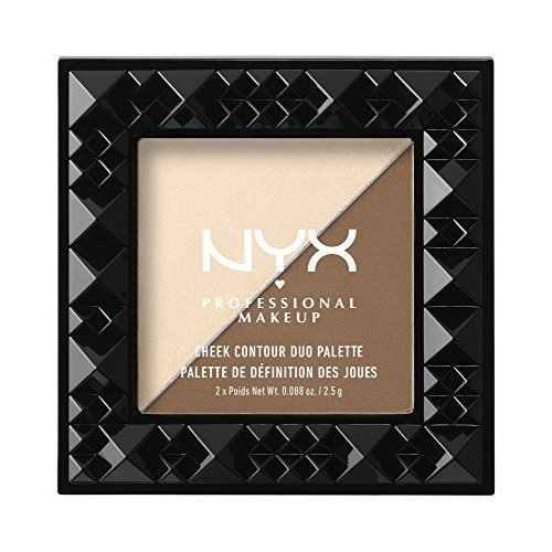 NYX Cosmetics Cheek Contour Duo Palette Double Date