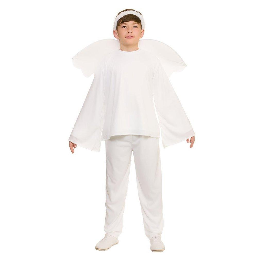 Kids Christmas Nativity Angel Costume