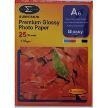 Sumvision A6 135gsm Premium Gloss Photo Paper