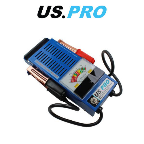 US PRO 6v-12v 100 Amp Battery Load & Charging System Tester