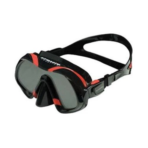 Atomic Venom Ultra Clear Ultra Wide Panoramic View Scuba Diving Mask Red