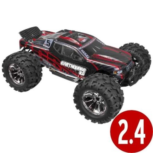 Redcat Racing EARTHQUAKE3.5-NEW-RED Earthquake 3.5 Scale Nitro Monster Truck - Red