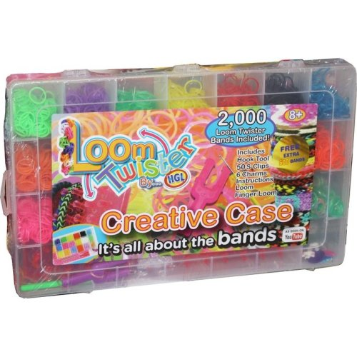 2000pc Loom Twister Large Loom Band Kit | Jumbo Loom Band Set