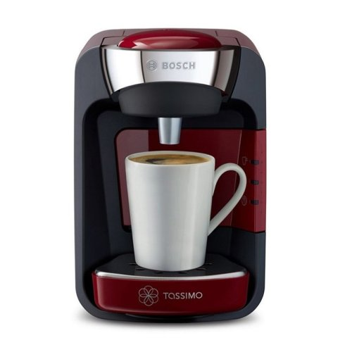 Bosch Tassimo TAS3203GB 'Suny' Espresso Coffee Machine 0.8 litres Red