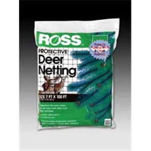 Easy Gardener Weatherly Consum Ross Deer Netting Black 7 X 100 Feet - 15464