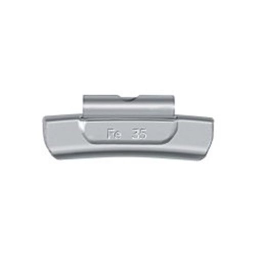 Ammco AMMENFE30 30 gm ENFE Coated Steel Clip-On Wheel Weight - Box of 25