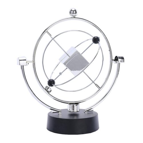 Electronic Perpetual Motion Desk Toy Kinetic Art Toys