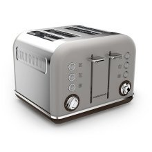 Morphy Richards Accents Special Edition 4 Slice Toaster - Pebble (Model 242102)