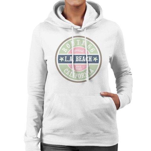 Route 66 Original LA Beach Wear Women's Hooded Sweatshirt