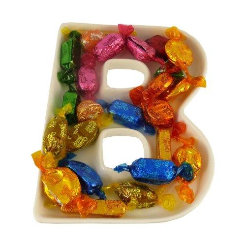 B Alphabet Dish