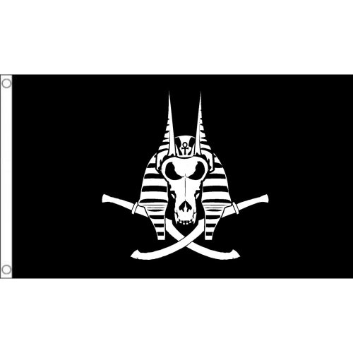 Anubis  logo Flag  Size: 5 x 3 FT ( 150cm x 90cm)