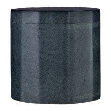 Marble Cotton Jar - Dark Grey
