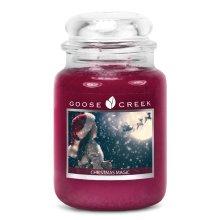 Goose Creek 24oz Large Scented 2 Wick Christmas Candle Jars Christmas Magic