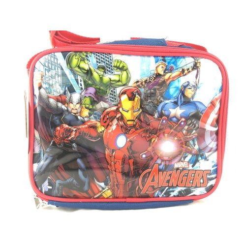 Lunch Bag - Marvel - Avengers Group Red New 658670