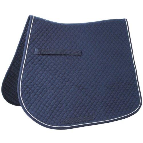 Kerbl Multipurpose Saddle Pad Cloth Horse Riding Numnah Classic Navy 323810