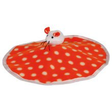 Rustling Play Mat With Bell, 32 × 28cm - Cat Mouse Toy Kitten Fleece Trixie -  cat mouse toy kitten rustling fleece play mat trixie plush foil
