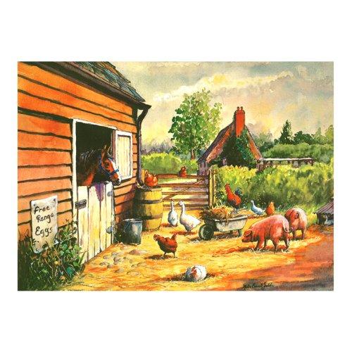 Tuftop Medium Textured Worktop Saver, Farmyard 40 x 30cm