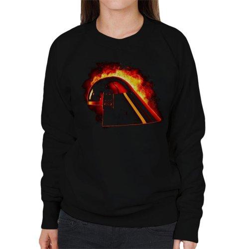 Original Stormtrooper Imperial Navy Helmet Explosion Women's Sweatshirt