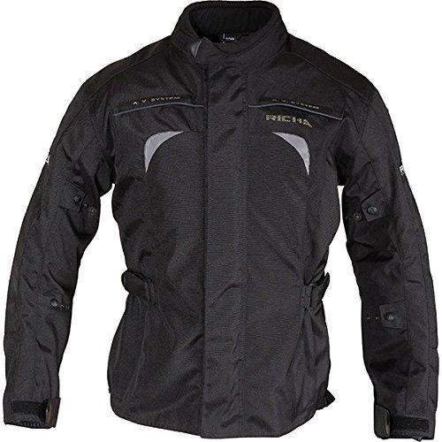 Richa Bolt Ladies Black Waterproof Textile Motorcycle Jacket