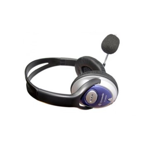 Dynamode DH-660 Binaural Wired Black mobile headset