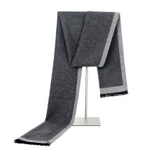 Mens Solid Frame Winter Warm Scarves