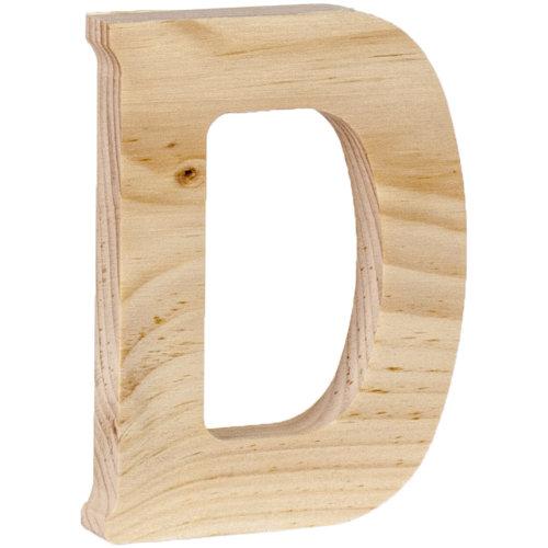 "Walnut Hollow Wood Letter 5""-D"