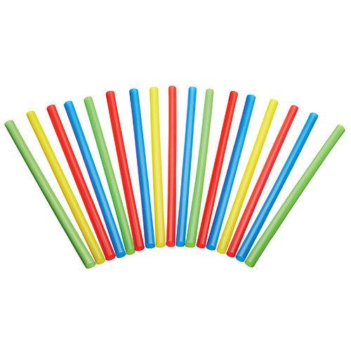 KitchenCraft Pack of 50 Plastic Smoothie / Milkshake Straws