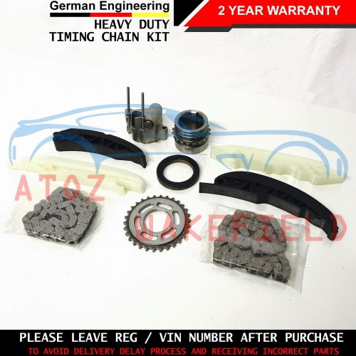 FOR BMW 5 SERIES 535d E60 E61 UPPER LOWER DIESEL ENGINE TIMING CHAIN KIT M57D30