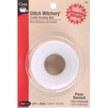 "Dritz Stitch Witchery Fusible Bonding Web Regular Weight-.625""X20yd"