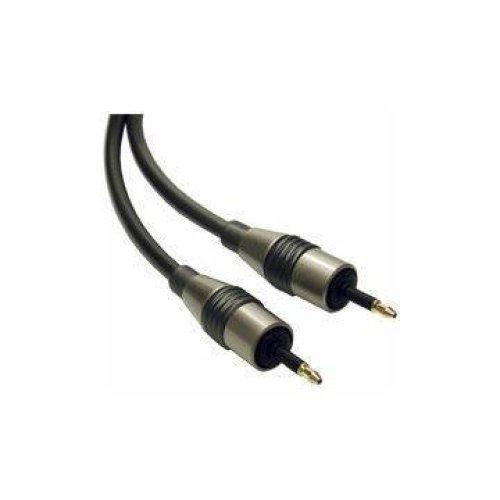 HAMA Pro Class 1.5m Optical Lead 3.5mm Plug to Plug