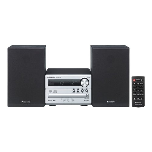 Panasonic SC-PM250EB-S Bluetooth USB CD Micro Hi-Fi Home Entertainment System