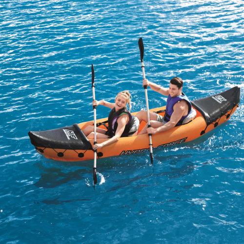 Bestway Lite Rapid X2 Inflatable Kayak with Paddles 321x88 cm 65077