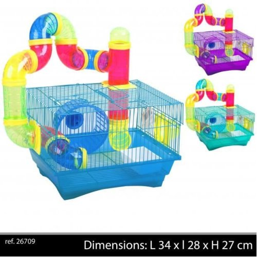 Hamster Cage  34X28X24