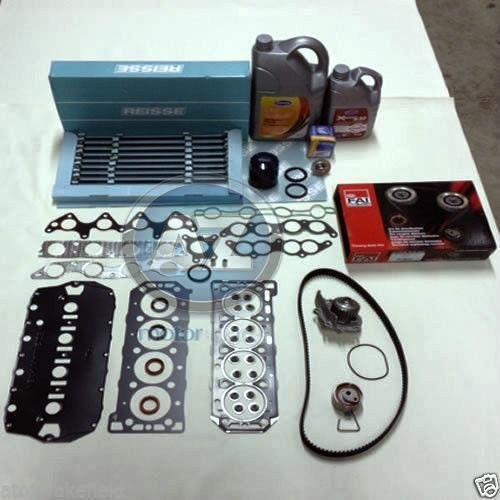 oil coolant MLS head gasket bolts timing kit water pump thermostat filter FAI
