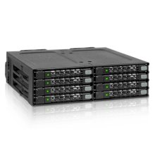 "Icy Dock MB998SP-B HDD/SSD enclosure 2.5"" Black storage drive..."