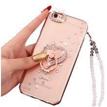 Creative Phone Case for Iphone 6 Plus / 6S Plus Shinny Phone Protection