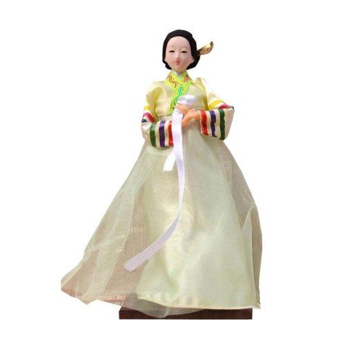 4c0ac6b49 Traditional Korean Hanbok Vintage Restaurant Doll Figurine 02 on OnBuy