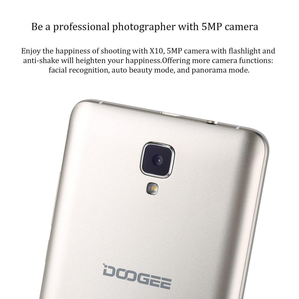 SIM Free Smartphones, DOOGEE X10 Unlocked Dual SIM Mobile