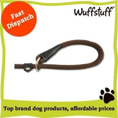 Ancol Deluxe Nylon Rope Slip Lead, Brown