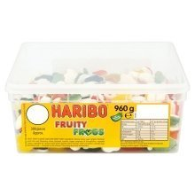 Haribo Fruity Frogs 300 Pieces 960g