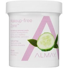 Almay Oil-Free Eye Makeup Remover Pads, 80 Counts