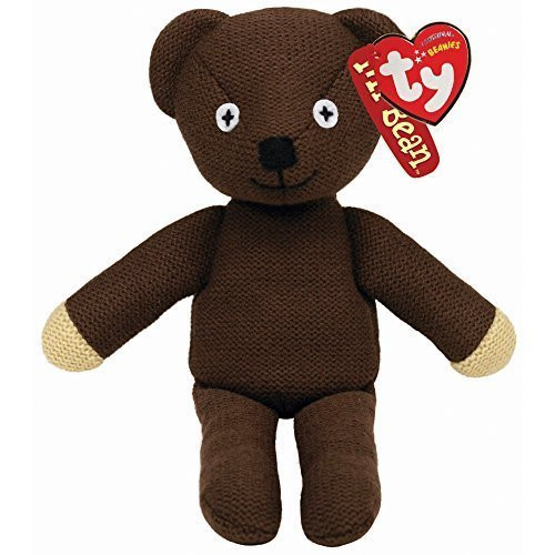 "Ty Beanie Babies Mr Bean Teddy 8"" Plush Soft Toy"