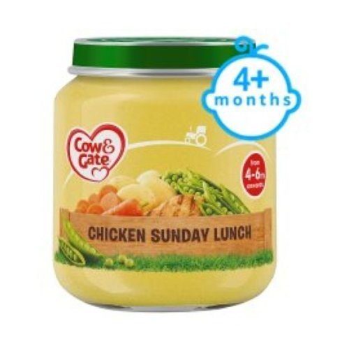 Cow & Gate 7Mths Sunday Lunch Jar (6 x 200g)