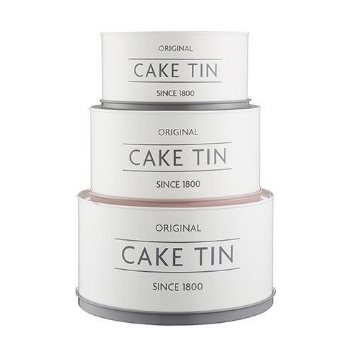 Mason Cash Innovative Kitchen Set Of 3 Cake Tins